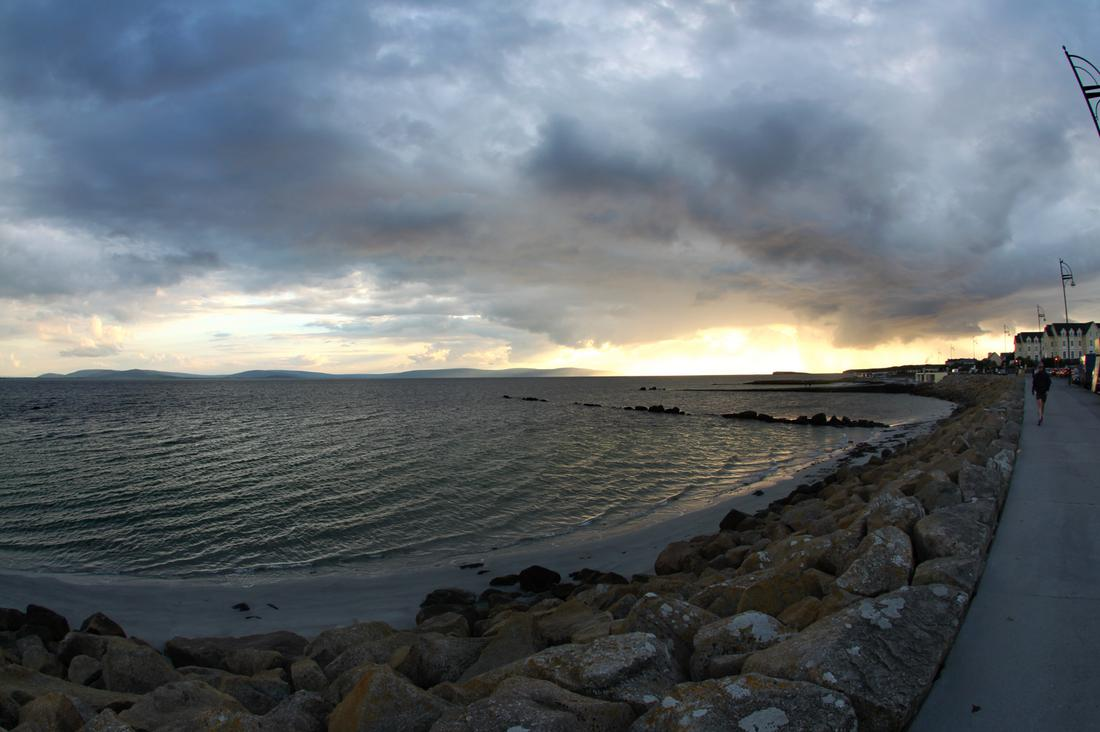 The view from Salthill