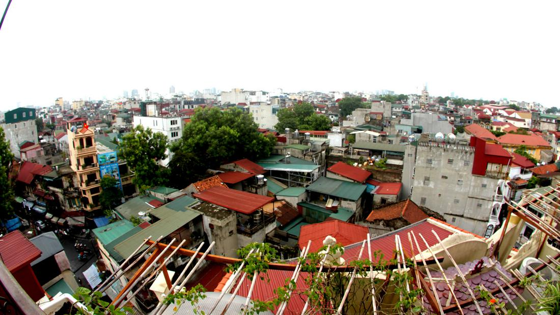 Skyline of Old Quarter, Hanoi