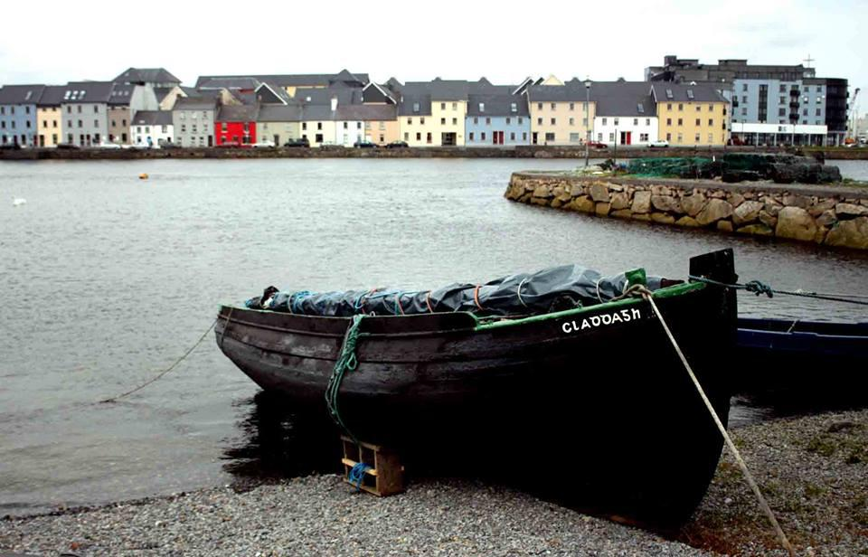 Claddash boat in Galway