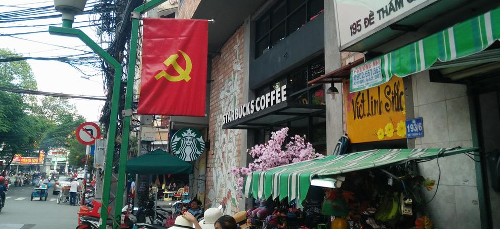 Do you want a frappuchino with your communist political system?